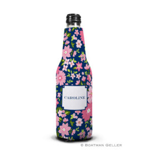 Koozie - Caroline Floral Pink