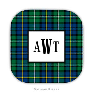 Coasters - Black Watch Plaid