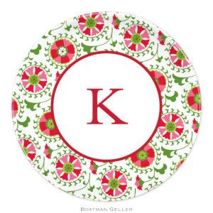 "Plates 10"" - Suzani Holiday"